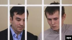 Євген Єрофеєв (л) і Олександр Александров? архівне фото