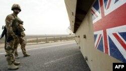 قوات بريطانية في البصرة عام 2007