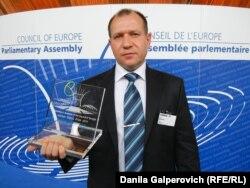 Игорь Каляпин награжден призом ПАСЕ за правозащитную деятельность, июнь 2011 года