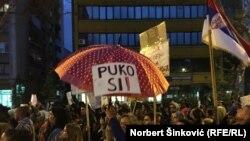 Protest u Novom Sadu, 7. aprila