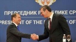 Medvedev u Skupštini Srbije: Otvoreni za dijalog sa EU