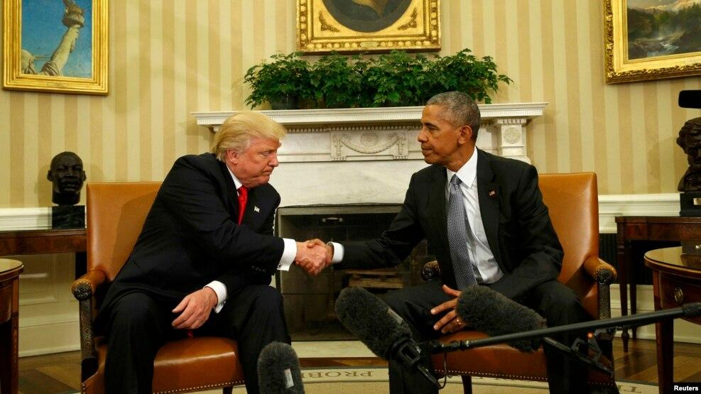 Երկու նախագահների հանդիպում Սպիտակ տանը