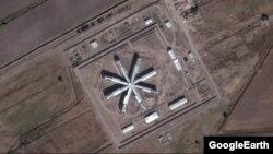 Новая тюрьма, которая строится в Зангиатинском районе Ташкентской области.