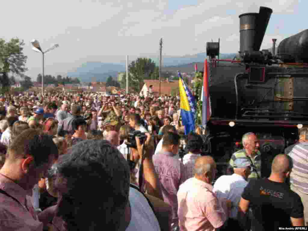 """Građani dočekali """"Ćiru"""" u Višegradu"""