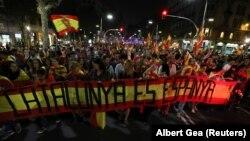 27 oktabr kungi namoyish, Barselona