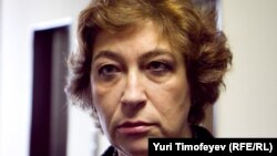 Главный редактор оппозиционного журнала The New Times Евгения Альбац. 2 сентября 2010 года.