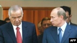 Нахуствазири Русия Владимир Путин ҳини боздид аз Тошканд, 2-уми сентябри 2008