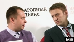 Микола Ляскін (л) і Олексій Навальний (п), архівне фото