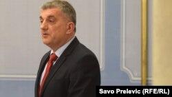 Montenegrin presidential candidate Mladen Bojanic (file photo)