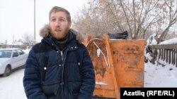 Эко-активист Антон Голубков