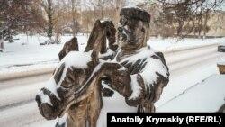 Зима в Крыму, архивное фото