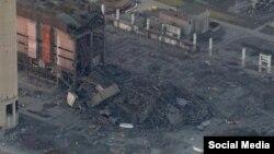 Неработающая электростанция Дидкот (юг Англии)