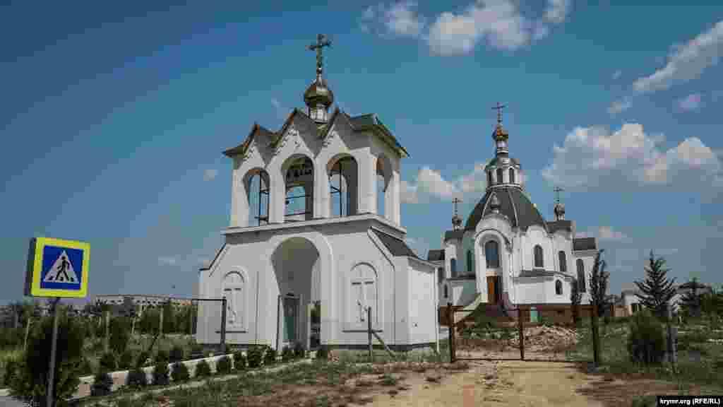 Православный храм святого Андрея Первозванного в Новоозерном открылся прошлой осенью