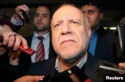 Биджан Зангане, министр нефти Ирана, который, как и Россия, выступает за сокращение добычи нефти