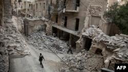 Մայիսի 2-ին ռմբահարված Հալեպի թաղամասերից մեկը:
