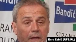 Zagreb Mayor Milan Bandic in 2016