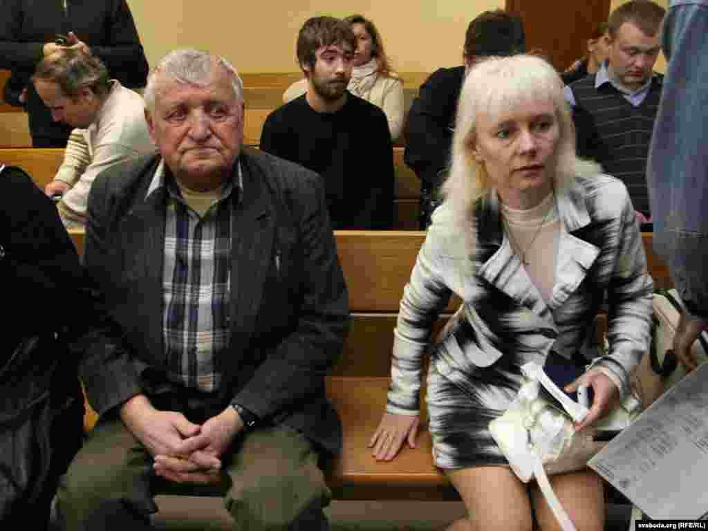 Вячаслаў Дашкевіч і Марына Лобава