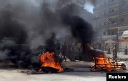 Беспорядки в Каире, организованные сторонниками свергнутого президента Мурси. Август 2014 года
