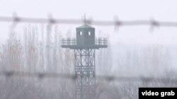 На узбекско-кыргызской границе, архивное фото.