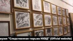 Выставка политического карикатуриста Бориса Перцева в Томске