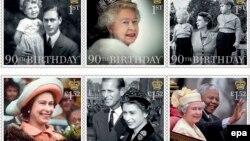 Почтовое ведомство Великобритании выпустило к юбилею шесть марок