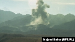 The bombing of Tora Bora in December 2001