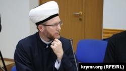 Саид Исмагилов, во время подписания Хартии мусульман Украины, 5 декабря 2016 года