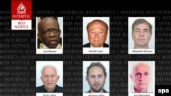 Извещение Интерпола об аресте функционеров ФИФА