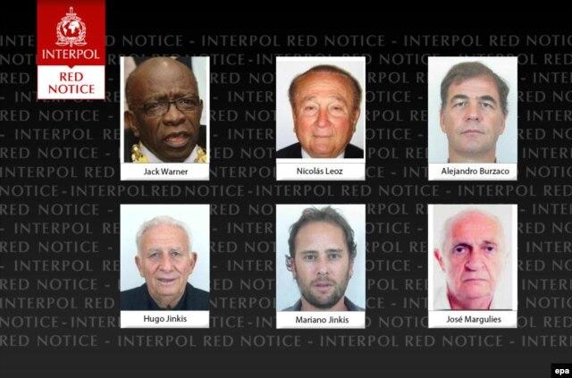 """""""Красный ордер"""" Интерпола на арест высокопоставленных чиновников ФИФА"""