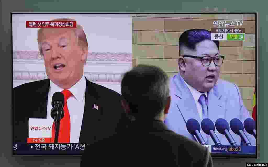 САД - Американскиот претседател Доналд Трамп изјави дека до крајот на неделава ќе бидат објавени датумот и местото на неговиот состанок со севернокорејскиот лидер Ким Џонг Ун. Претходно Трамп рече дека состанокот би можело да се одржи кон крајот на мај и почетокот на јуни и оти би можел да биде во демилитаризираната зона која ги дели двете Кореи. Како можна локација се разгледува и Сингапур.