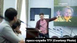 Илья Яблоков в Томском государственном университете