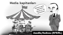 """""""Media"""". Karikatura."""