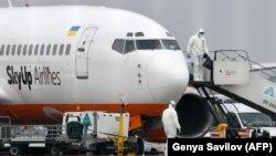 20 лютого до України прилетів спецборт з китайського міста Ухань, де зафіксований спалах коронавірусу