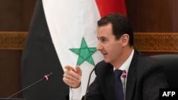 Россия поддерживает в Сирии режим президента Башара Асада (на фото)