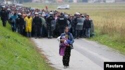 معضل پناهجویان در مرز اسلوونی و کرواسی