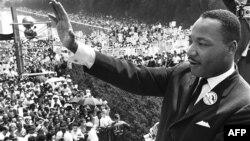 Martin Luther King,Jr. Vaşinqtondakı yürüş-mitinqdə, 28 avqust 1963