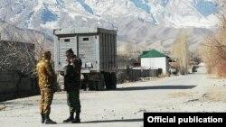 Qırğızıstan-Tacikistan sərhədinin Batken sektoru