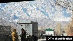 Баткен: Дорога все еще закрыта для движения