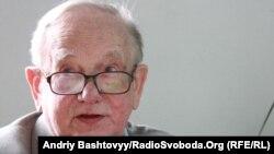 Осип Зінкевич (1925–2017), засновник видавництва «Смолоскип». Київ, 2010 рік