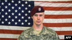 Former Private First Class (Pfc) Bowe Bergdahl, before his capture by the Taliban in Afghanistan, 2014.