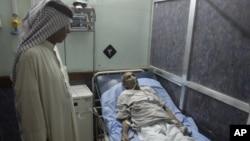 مريض في مستشفى ببغداد