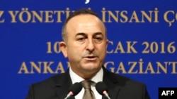 Мевлют Чавушоглу, міністр закордонних справ Туреччини
