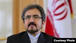 بهرام قاسمی سخنگو و رئیس مرکز دیپلماسی عمومی وزارت امور خارجه ایران