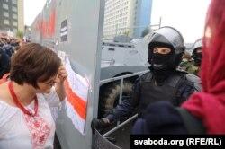 Marșul Unității, așa s-a numit protestul de la Minsk, 6 septembrie 2020.