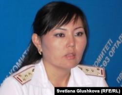 Республикалық қылмыстық атқару жүйесі комитетінің ресми өкілі Самал Ғадылбекова. Астана, 27 тамыз 2011 жыл.