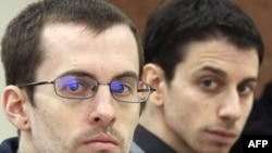 U.S. citizens Shane Bauer (left) and Josh Fattal have been held in Iran on spying charges for nearly two years.