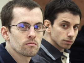 Shane Bauer (left) and Josh Fattal have been given eight-year sentences