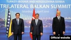 Haris Silajdžić, Abdullah Gul i Boris Tadić