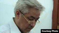 Жалгас Бабаханов, бывший аким Жанаозена, на суде.