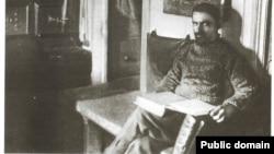"""Александр Колчак в кают-компании шхуны """"Заря"""""""